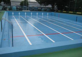 東原公園水泳場(25mプール)