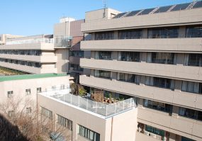 青梅市総合病院(外壁)